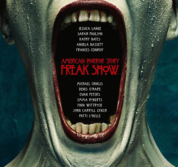 Footage (+ opening credits) from 'AHS: Freak Show'