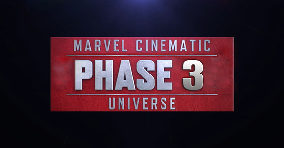 Marvel reveals Phase 3 Superhero Lineup!