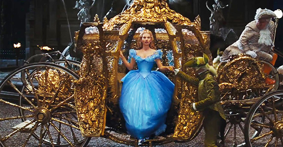 Trailer: Disney's (live-action) 'Cinderella'