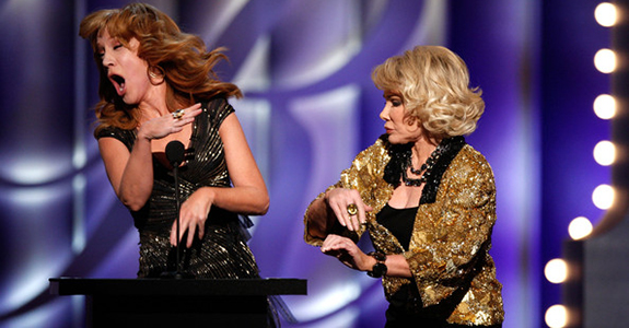 Kathy Griffin and Joan Rivers / Fashion Police