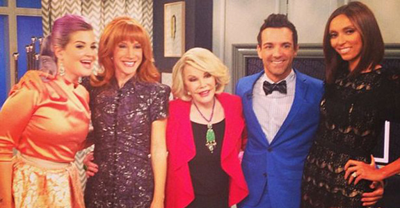 Kathy Griffin: Officially stepping up to the 'Fashion Police' plate