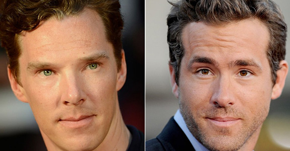 Benedict Cumberbatch = Doctor Strange & Ryan Reynolds = Deadpool
