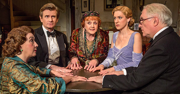 Legend on Stage Alert: Angela Lansbury back in 'Blithe Spirit'