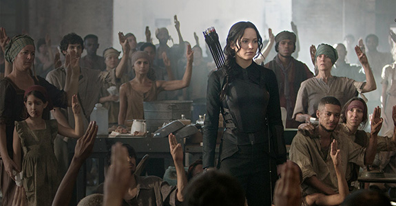 Box Office: 'Mockingjay' beat those penguins!