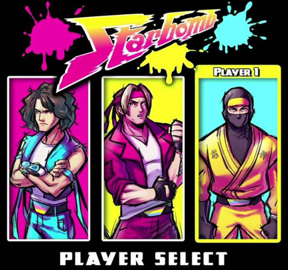 Starbomb returns with 'Player Select'