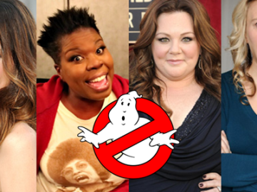 Announced: The 'Ghostbusters' reboot–with an all-female cast!