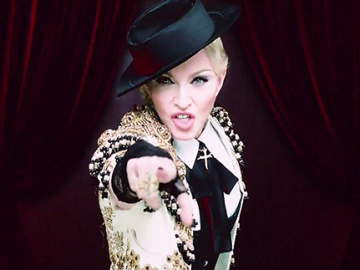 "Madonna is Now ""Living For Love"" on Youtube!"