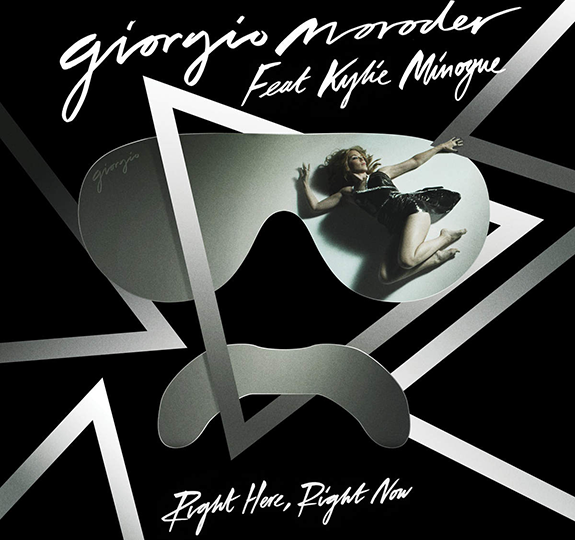 "Giorgio Moroder + Kylie Minogue = ""Right Here, Right Now"""