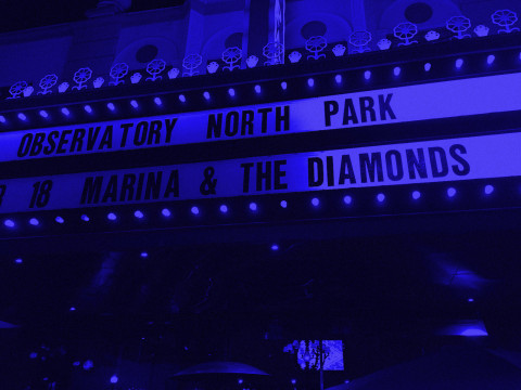 Marina and the Diamonds / San Diego /April 18, 2015
