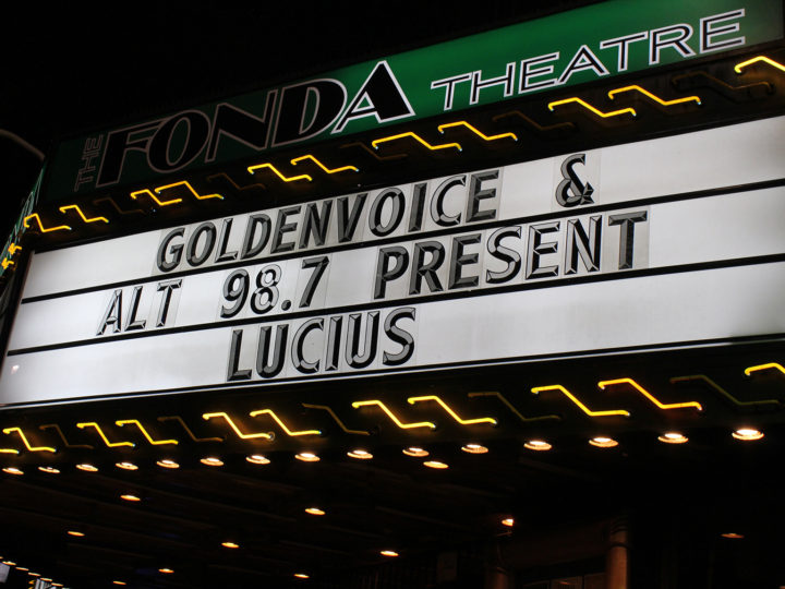 IMAGES: LUCIUS BRINGS 'GOOD GRIEF' TO LOS ANGELES