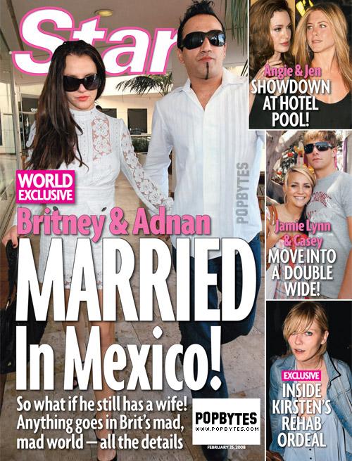 did britney & adnan get married in mexico?!? – PopBytes