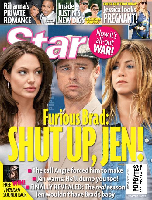 Angelina Jolie, Brad Pitt Divorce Battle: Jennifer Aniston